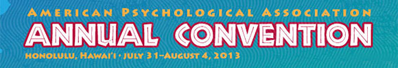 APA Conference 2013